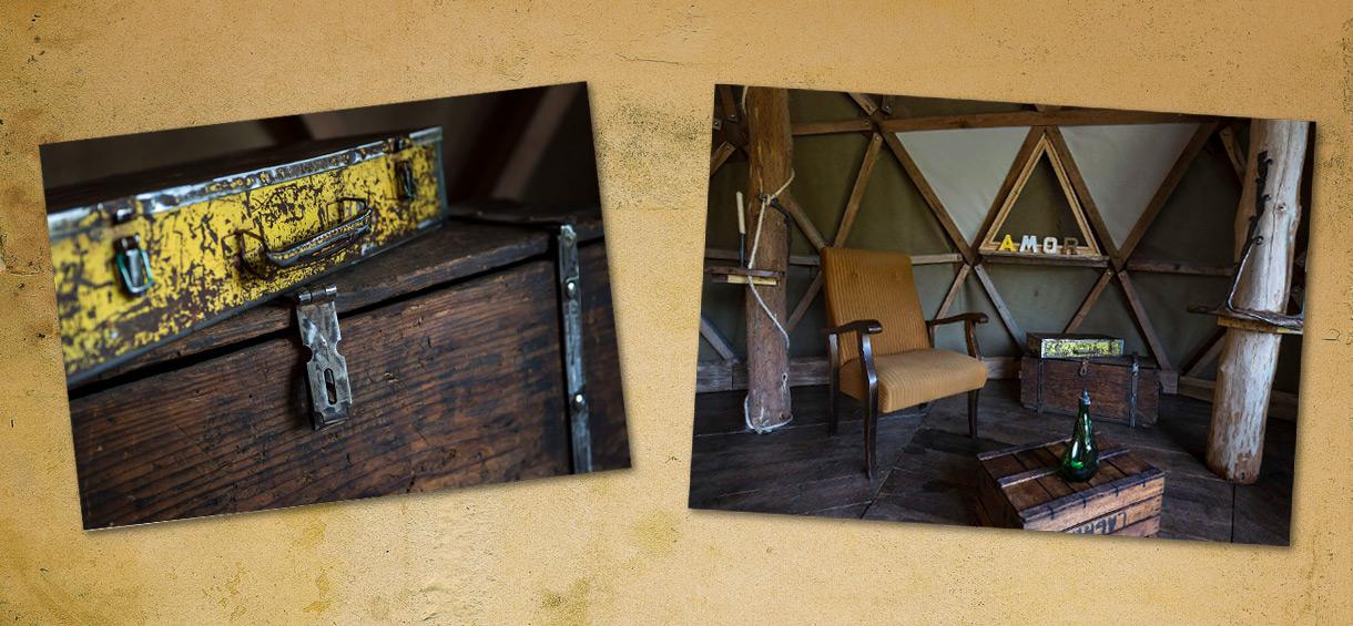 Le dôme Dara: hébergement insolite de Vit Tel Ta Nature à Vittel dans les Vosges